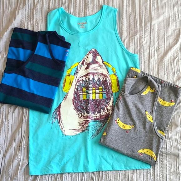 Boys tank tops (3 pairs)